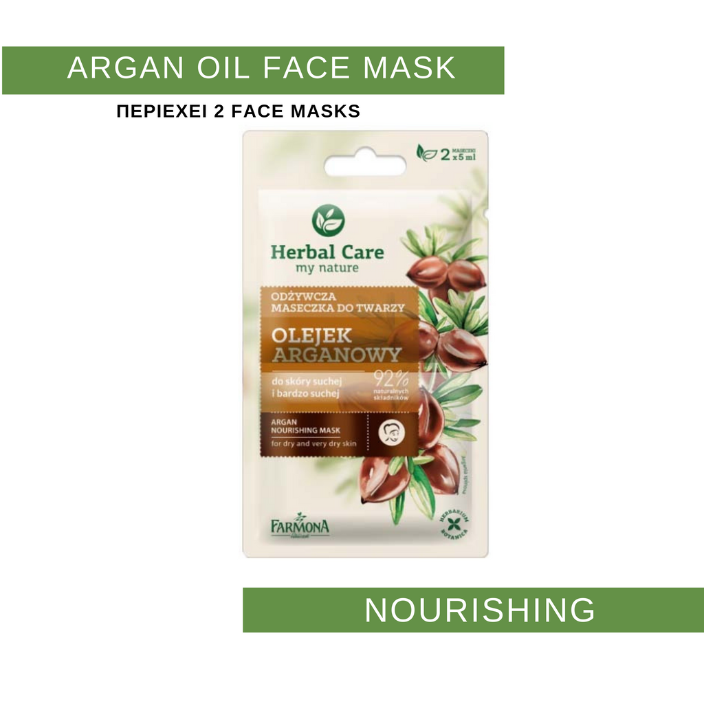 Argan Oil Nourishing Face Mask