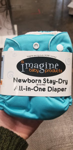 Imagine Stay Dry All In One Newborn Snap