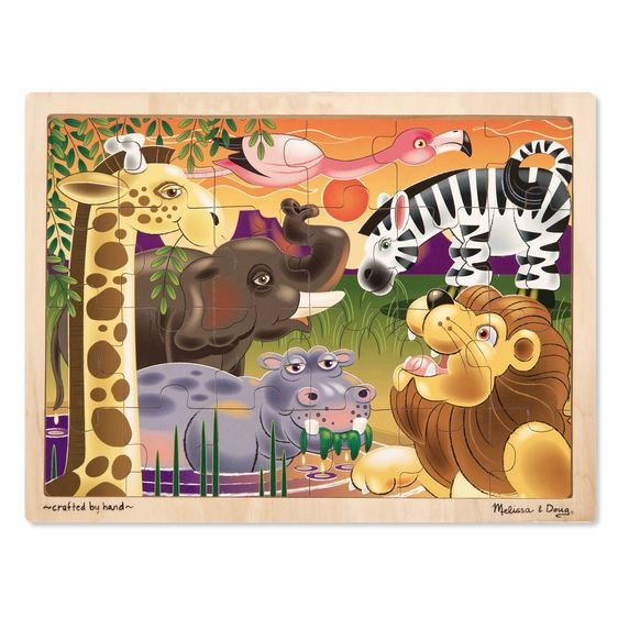 Melissa and Doug African Plains Jigsaw