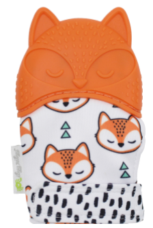 Itzy Ritzy Fox Teething Mitts