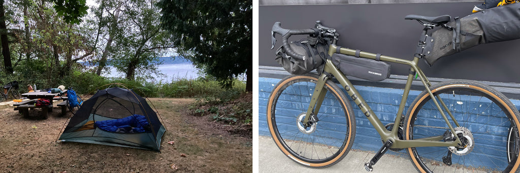 Obed Bikes Kuhn Couple Camping Seattle Boundary