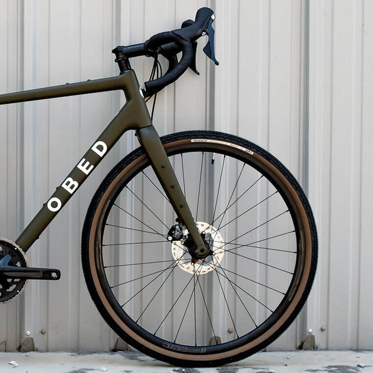 Side view of Obed Boundary Gravel Bike