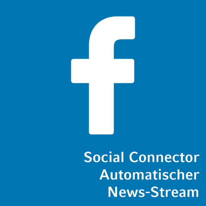 Social Connector Facebook automatischer News-Stream