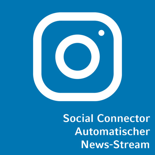 Social Connector Instagram automatischer News-Stream