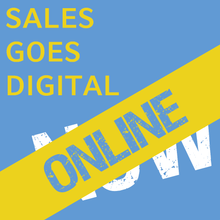Laden Sie das Bild in den Galerie-Viewer, ONLINE-EVENT | SALES GOES DIGITAL. NOW