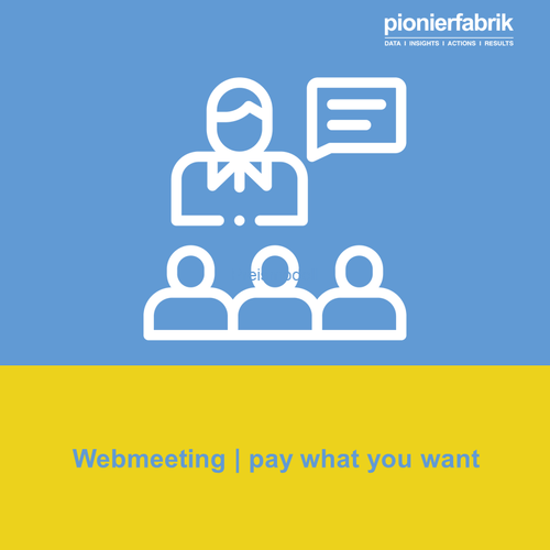 WEBMEETING (pay-what-you-want): Digital Sales | Digital Marketing