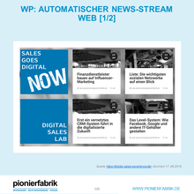 Laden Sie das Bild in den Galerie-Viewer, Automatischer News-Stream Web  & Social & Newsletter
