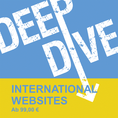 DEEP DIVE | INTERNATIONAL WEBSITES