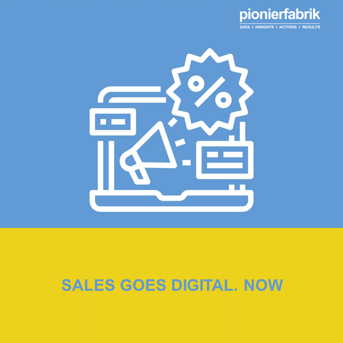 SALES GOES DIGITAL. NOW | Webinar