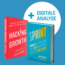 Laden Sie das Bild in den Galerie-Viewer, Hacking Growth trifft auf Design Sprint! Und Digital Sales Excellence! BAM!!