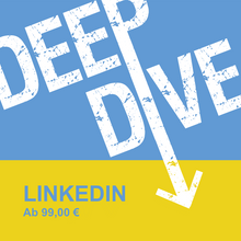 Laden Sie das Bild in den Galerie-Viewer, DEEP DIVE - LINKEDIN | ONLINE-EVENT