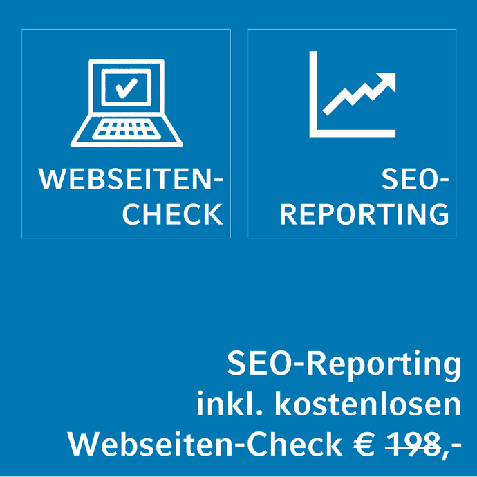 Kostenloses SEO-Reporting inklusive aktuellem Webseiten-Check