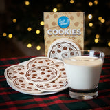Chocolate Chip Cookies Six Pack Drink Coasters