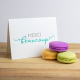 French Thank You Letterpress Card (Set of 5)