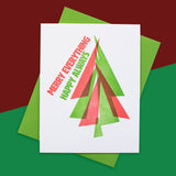 Merry Always Letterpress Card
