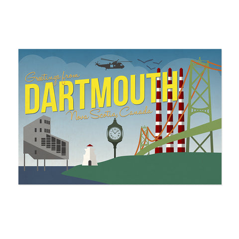Dartmouth Nova Scotia Postcard