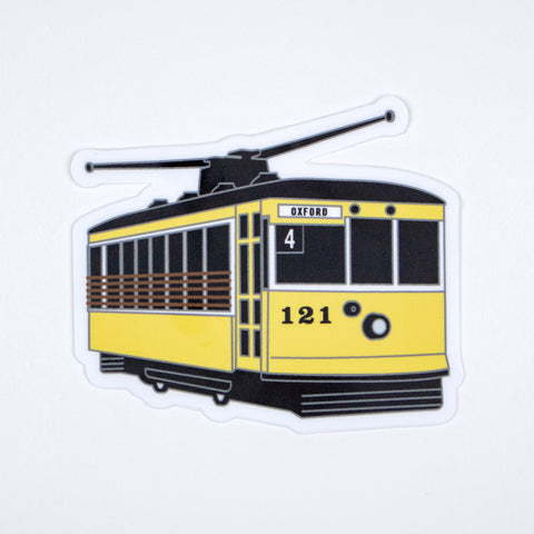 Street Car Sticker