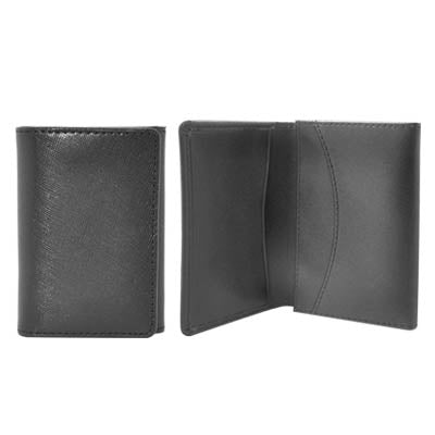Linear Leather Card Holder