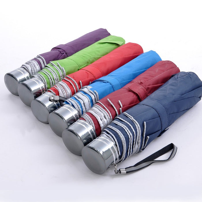 3 fold UV coated umbrella