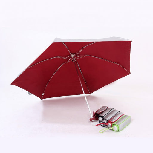 5 fold mini UV coated on exterior umbrella