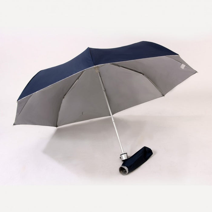 3 fold umbrella with UV coated interior