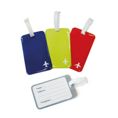 Simple PVC Luggage Tag