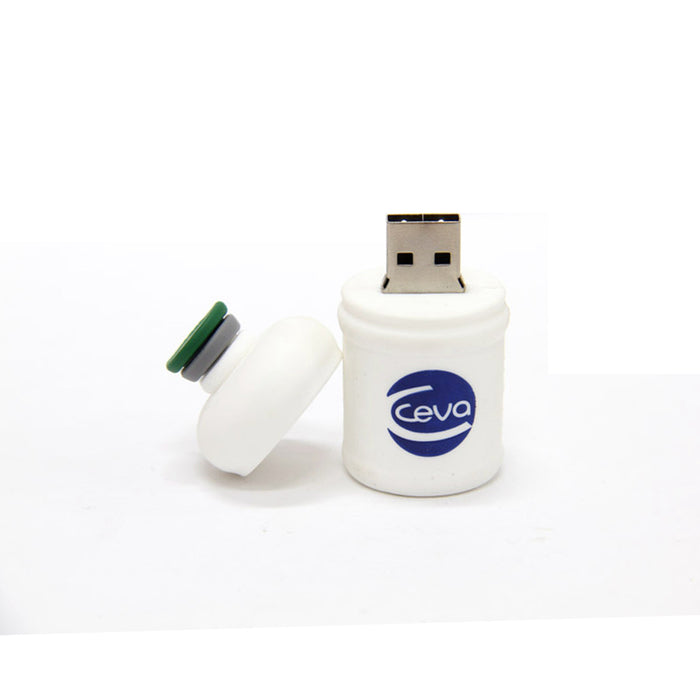 3D – Customized Rubber USB Drive