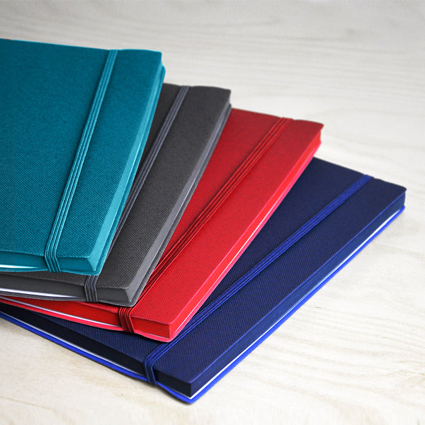 A5 Notebook with side matching color