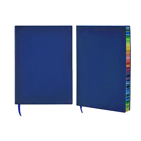 A5 Notebook with rainbow colour side
