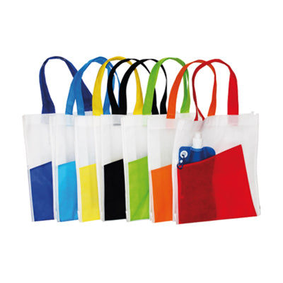 A4 size non woven with front pocket