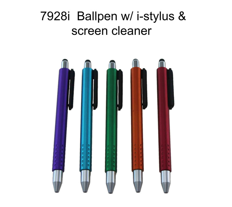 Ballpen with i-stylus & Screen Cleaner 2