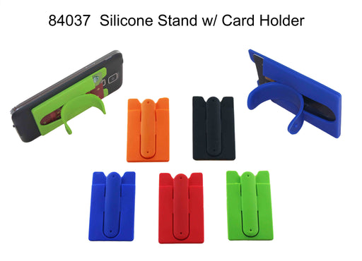Silicone Stand with Card Holder