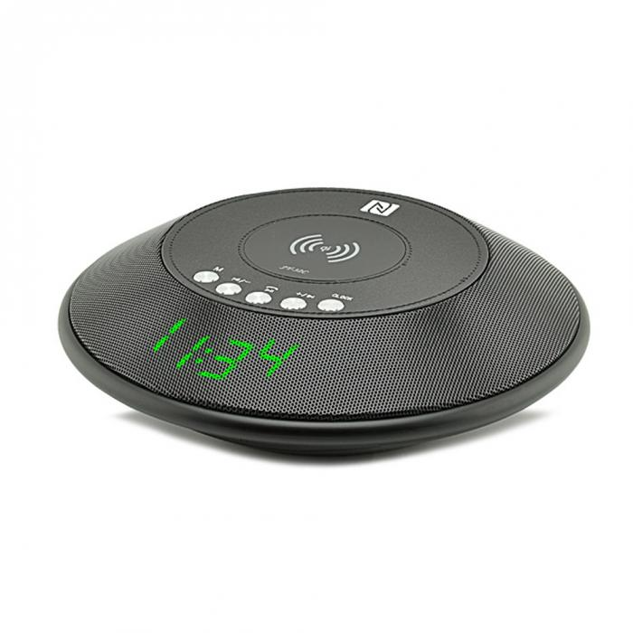 Wireless Bluetooth speaker with wireless Charger FM Radio