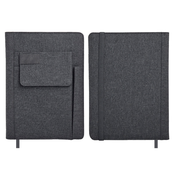 A5 Notebook with Front pocket and pen slot