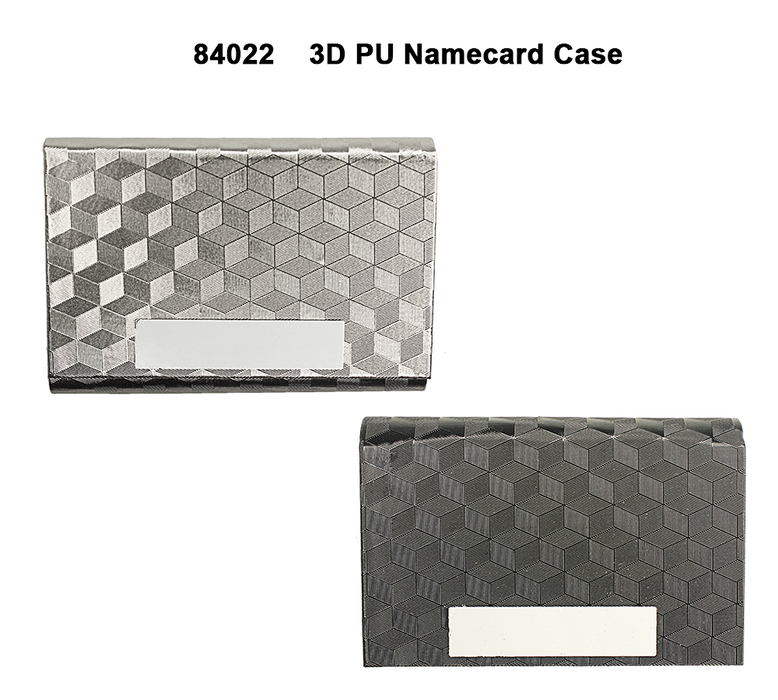 3D PU Namecard Case