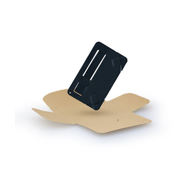 Ultra Slim Card Charger (Black)