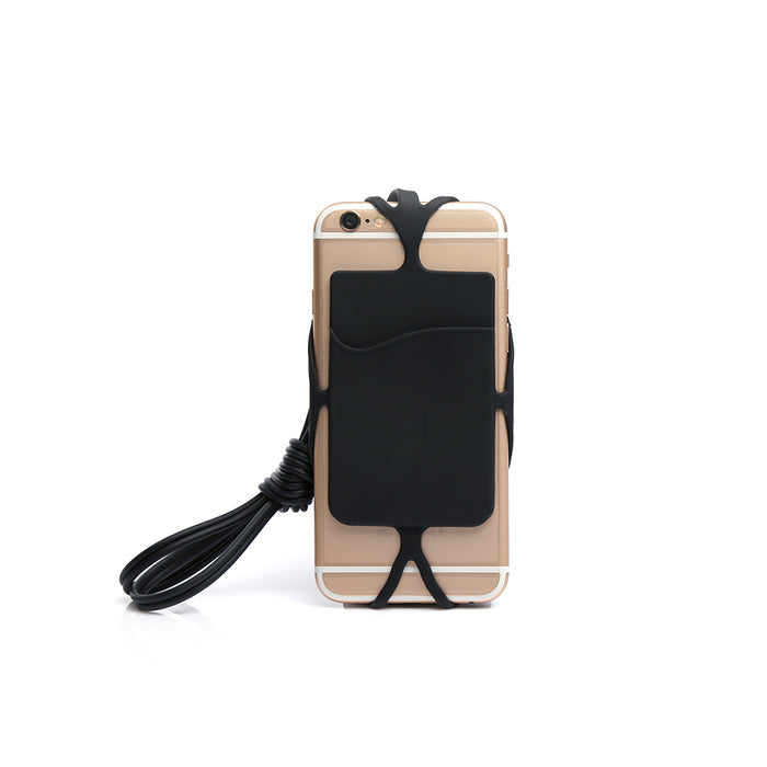 Silicone Mobile Holder (Black)