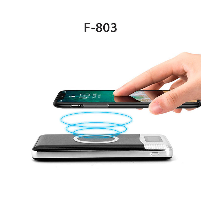 10000mAh | 2 In 1 Wireless Charging PowerBank