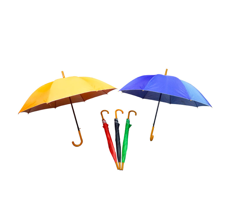 23″ Auto UV 8 Panel Straight Umbrella