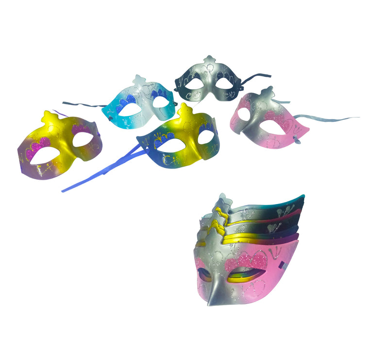 Party Mask With Assorted Colors