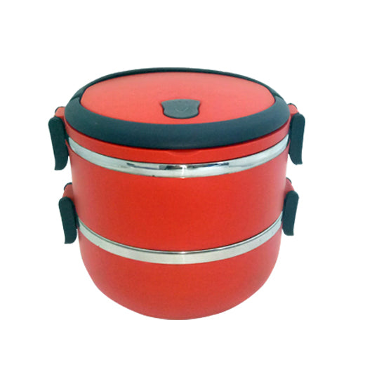 2-Tier Stainless Steel Lunch Box