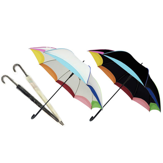 23″ Rainbow Umbrella with sleeve