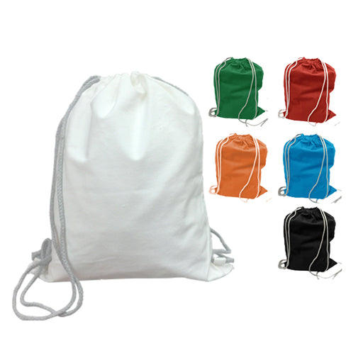 10oz Canvas Drawstring Bag