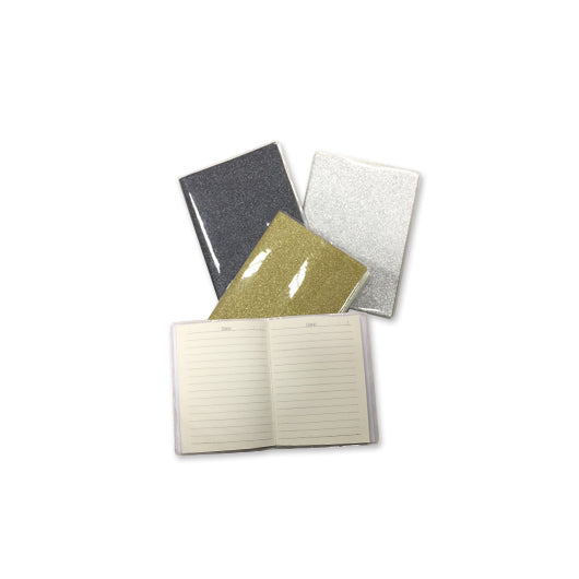 Shimmering A6 Notebook with PVC Cover