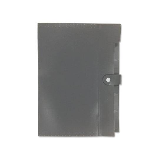 A4 PP file with 6 compartments
