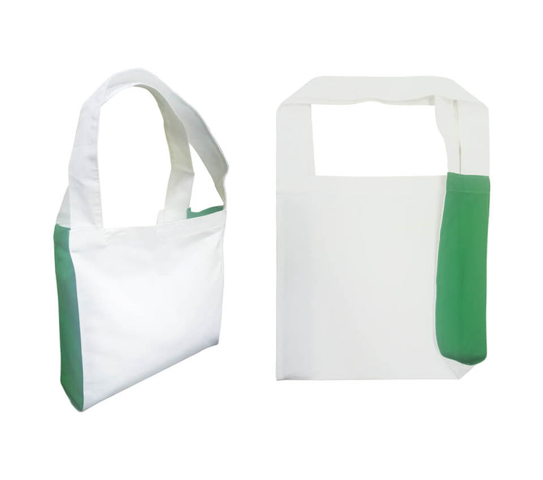 Cotton Canvas 2-tone Tote Bag 10oz