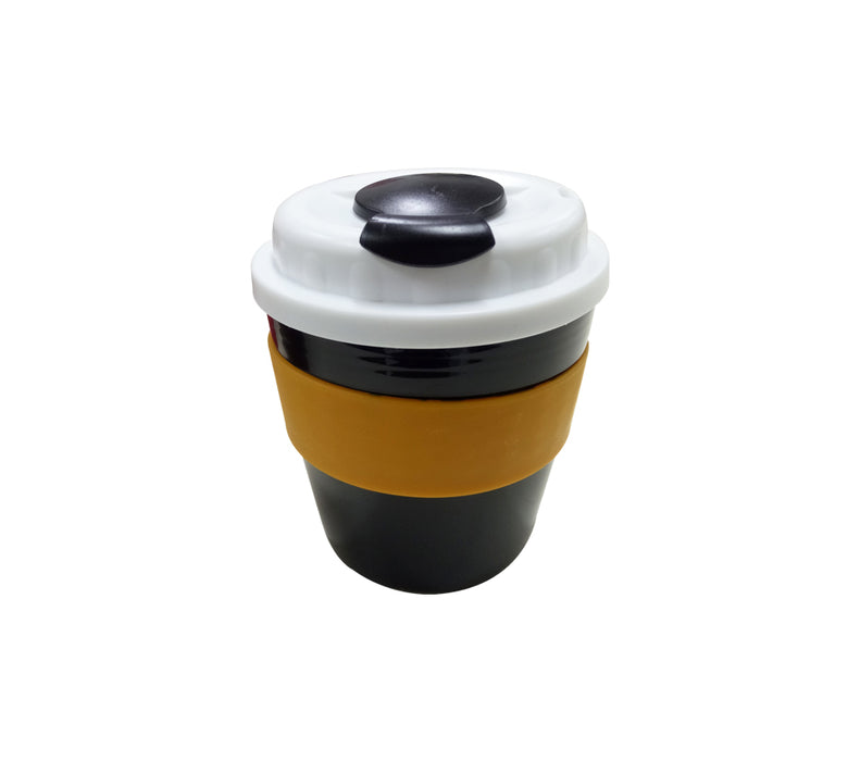10oz Coffee Mug with white lid