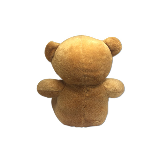 16cm Soft Toy Bear With Tee (Knitted Material)
