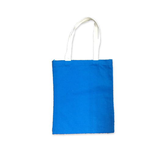10oz Cotton Canvas Bag with White Handle