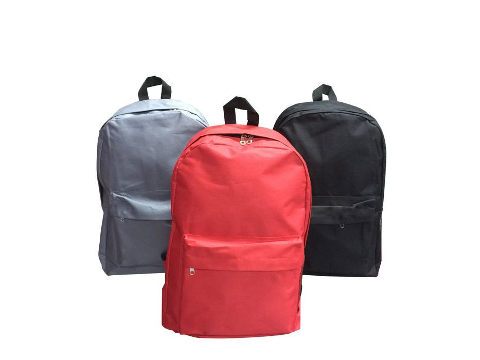 Backpack with zip compartment